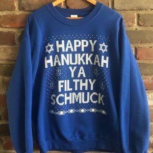 """""""Ugly"""" Holiday Sweatshirt - Men's size Large"""